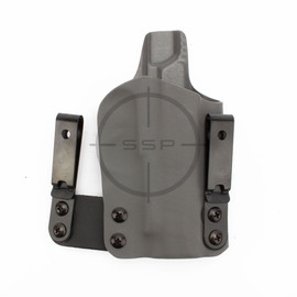 """BlackPoint Tactical RH FO3 Holster, Sig P365XL, Grey, 1.75"""" Metal IWB"""