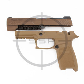 """Completion Kit - Sig Sauer P320 M17 9MM 4.7"""" Coyote"""