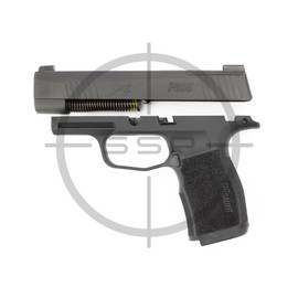 """Completion Kit - Sig Sauer P365XL Manual Safety 9MM 3.7"""" X-RAY3 w/ Night Sight Plate, Black"""