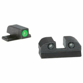 Sig Sauer X-RAY3 Day/Night Sights, #6 Green Front / #6 Rear, Round Notch