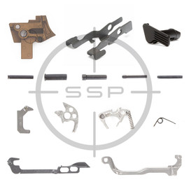 Sig Sauer P320 FCU Lower Parts Kit, 9/40/357, Coyote, Extended Slide Catch