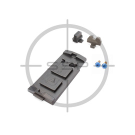 Agency Arms Sig P320 AOS Aimpoint ACRO Plate w/ Sights
