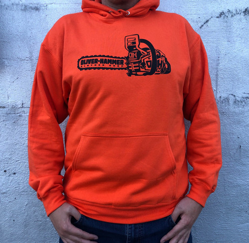 OH Chainsaw Hoodie - Orange