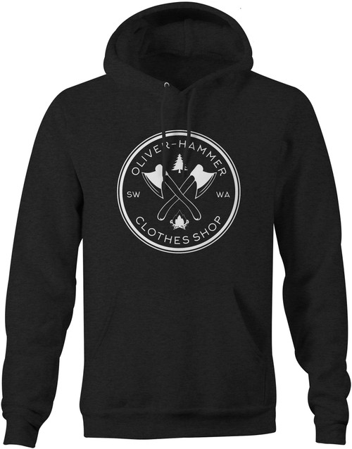 Campfire Hoodie - Dark Heather Grey