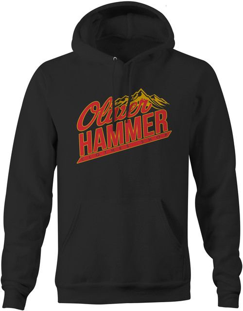 Beer Mountains Hoodie - Black