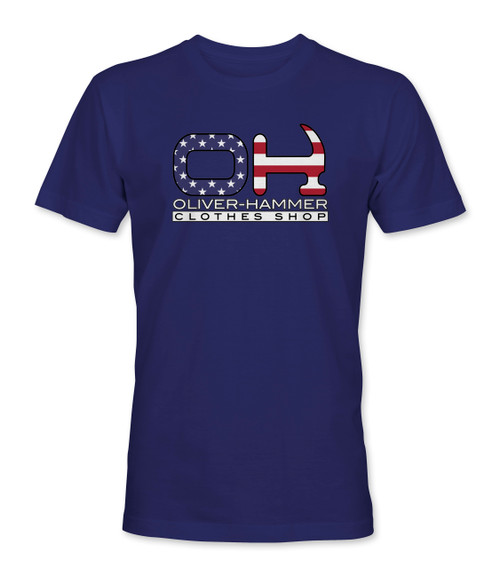 The Patriot OH T-Shirt - Navy