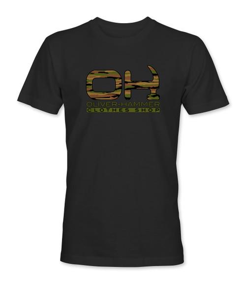 Camo OH T-Shirt - Black