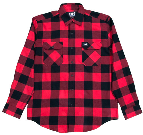 OH Logging Camp Flannel