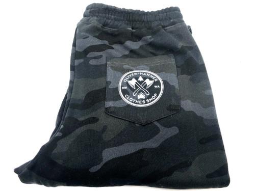OH Midweight Fleece Campfire  Pant - Black Camo