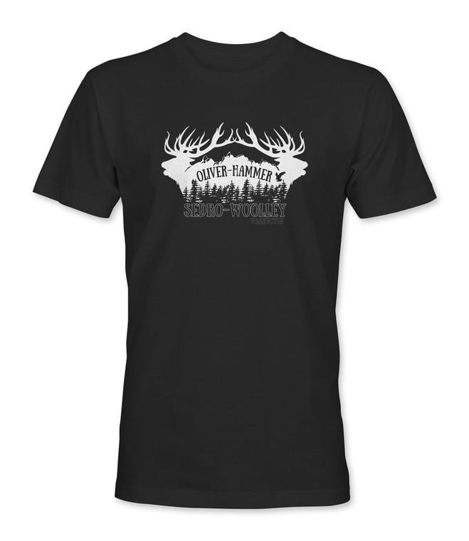 Sedro-Woolley Elk T-Shirt - Black