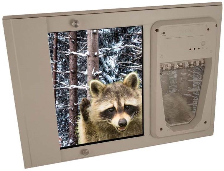 Petsafe Electronic Dual Pane Sash Window Insert