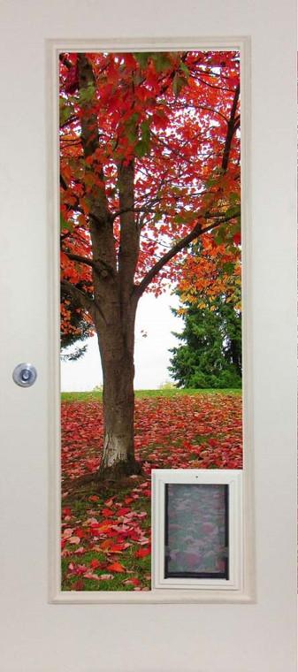 French Door Glass Panel with The Liberator American Dog Door