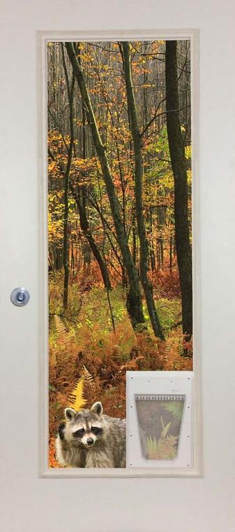 French Door Glass Panel with Pet door - PetSafe Electronic