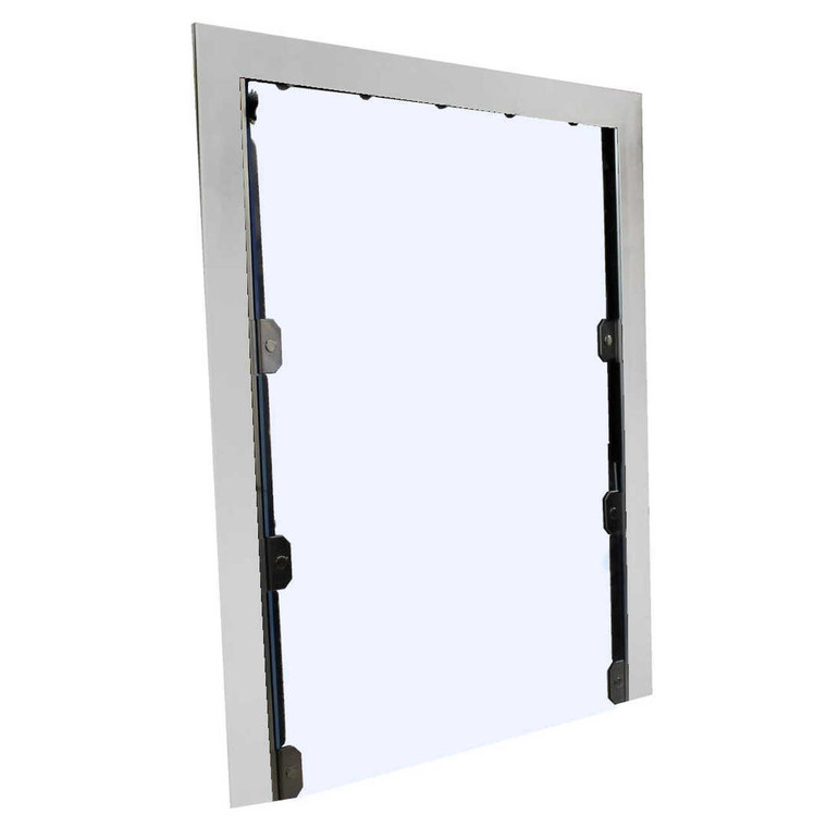 3-Sided Exterior Kennel Dog Door-2030