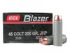 CCI Blazer Aluminum Case  45 Colt 200GR JHP, Box of 50