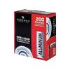 Federal 9mm 115 Gr, Aluminum Casing, FMJRN, 200 Rds
