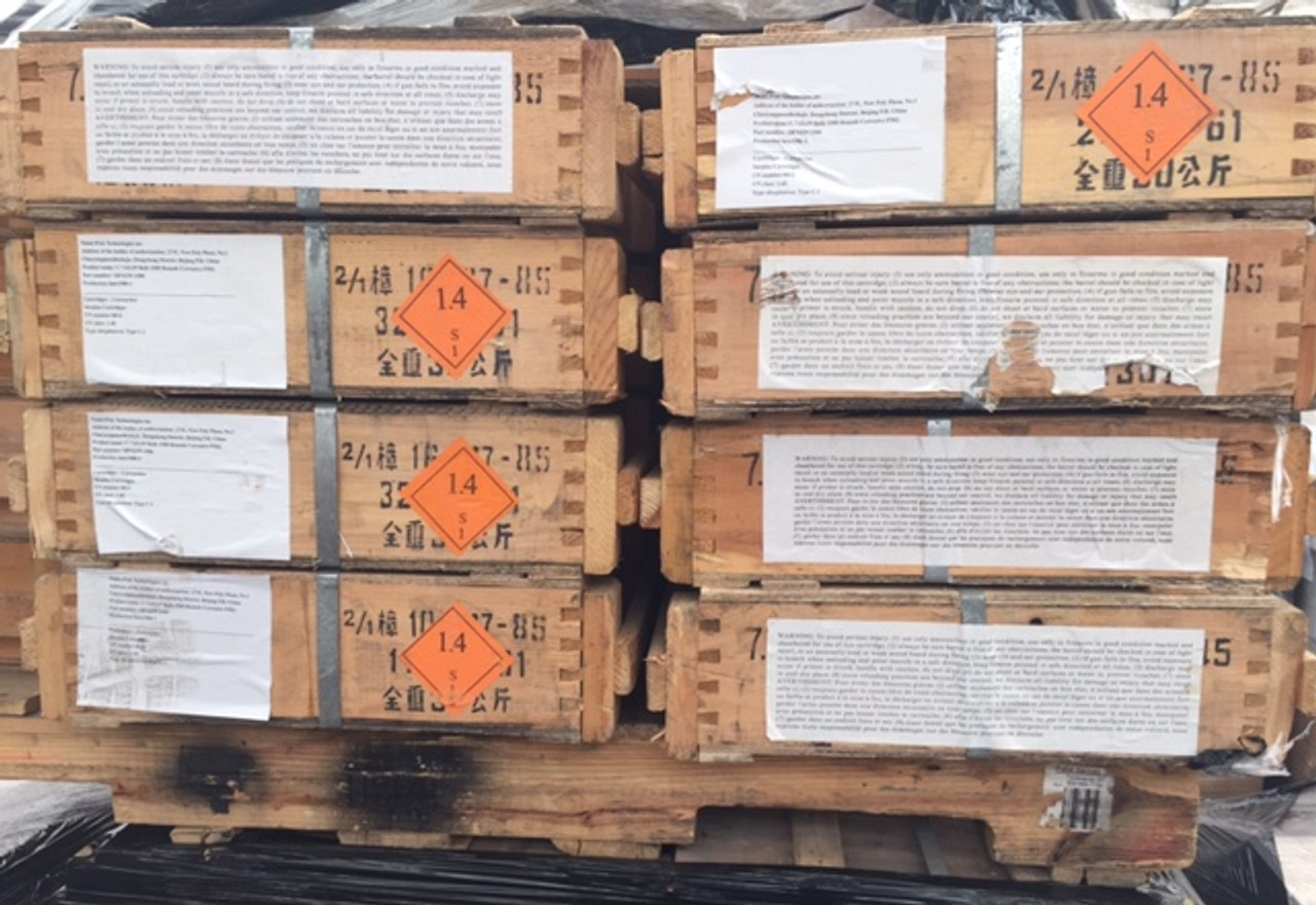 Chinese 7.62x39 Surplus, Case of 1500