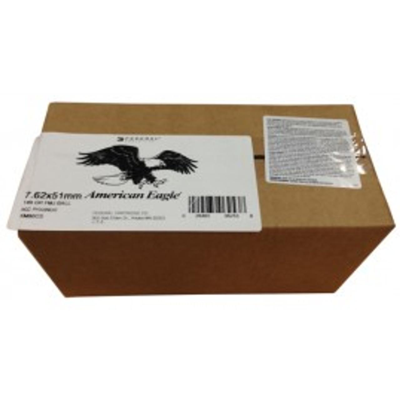 Federal XM80CS 7.62x51 149gr FMJ, Box of 500