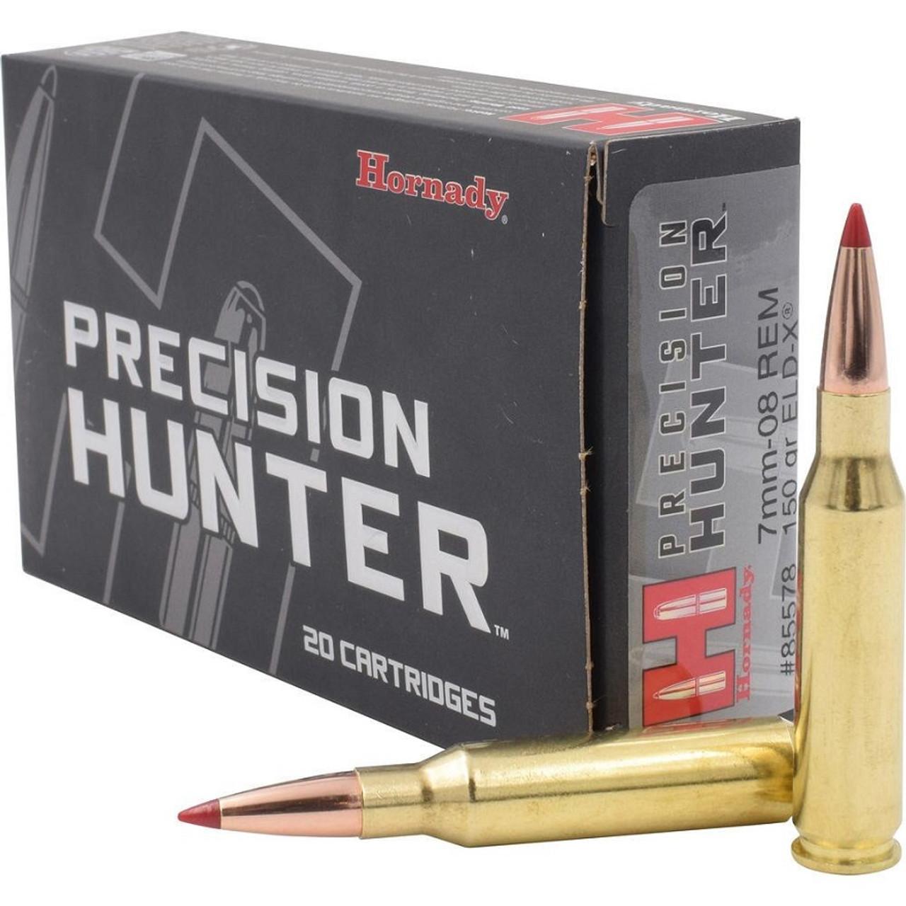 Hornady Precision Hunter 7mm-08 Remington 20 Rds ELD-X Polymer