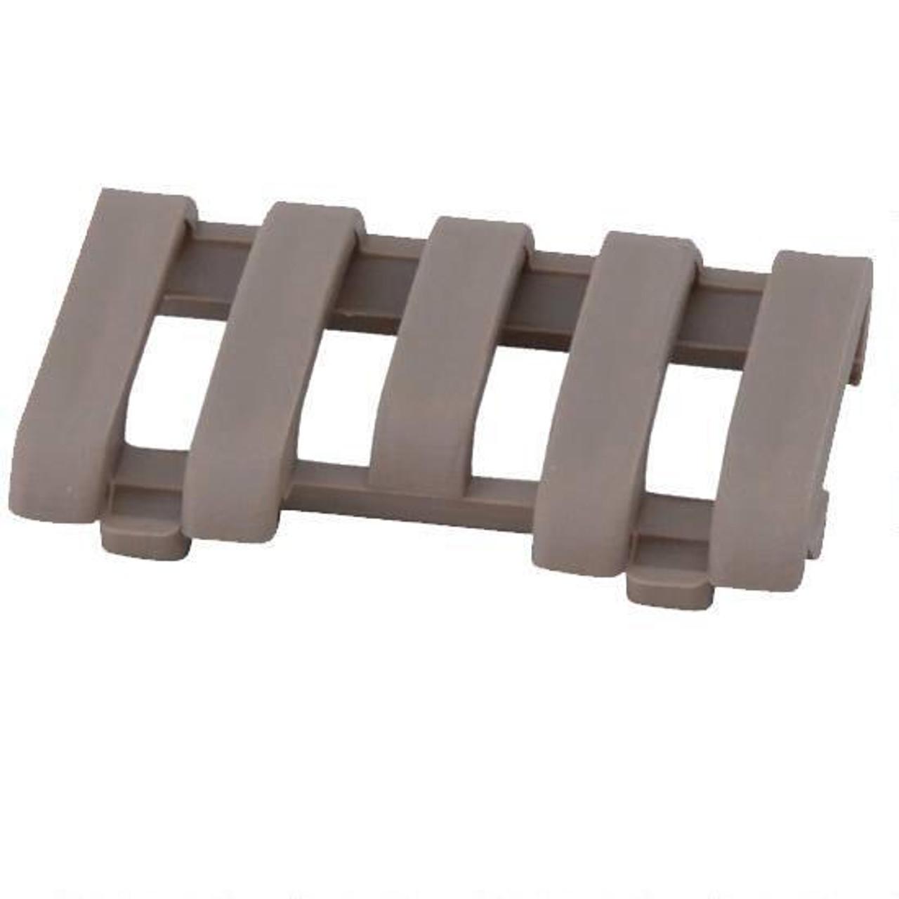 ERGO Grip Low Pro 5 Slot Picatinny Rail Wire Loom Santoprene DE
