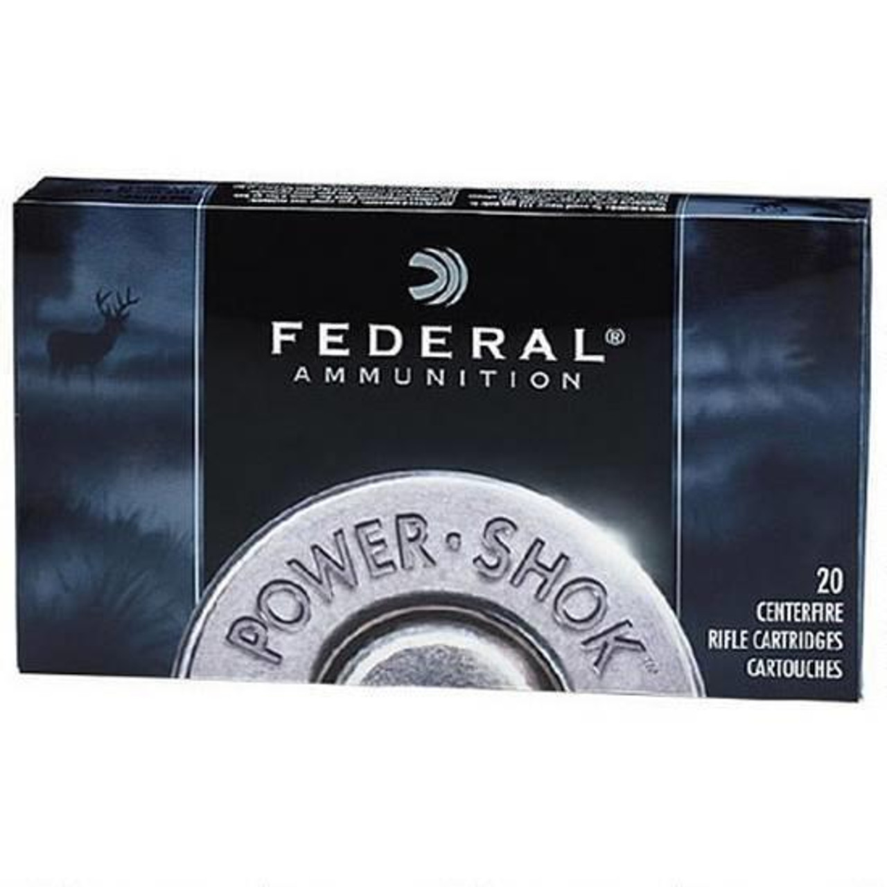 Federal Power-Shok 25-06 Rem JSP 117 Grains, Box of 20