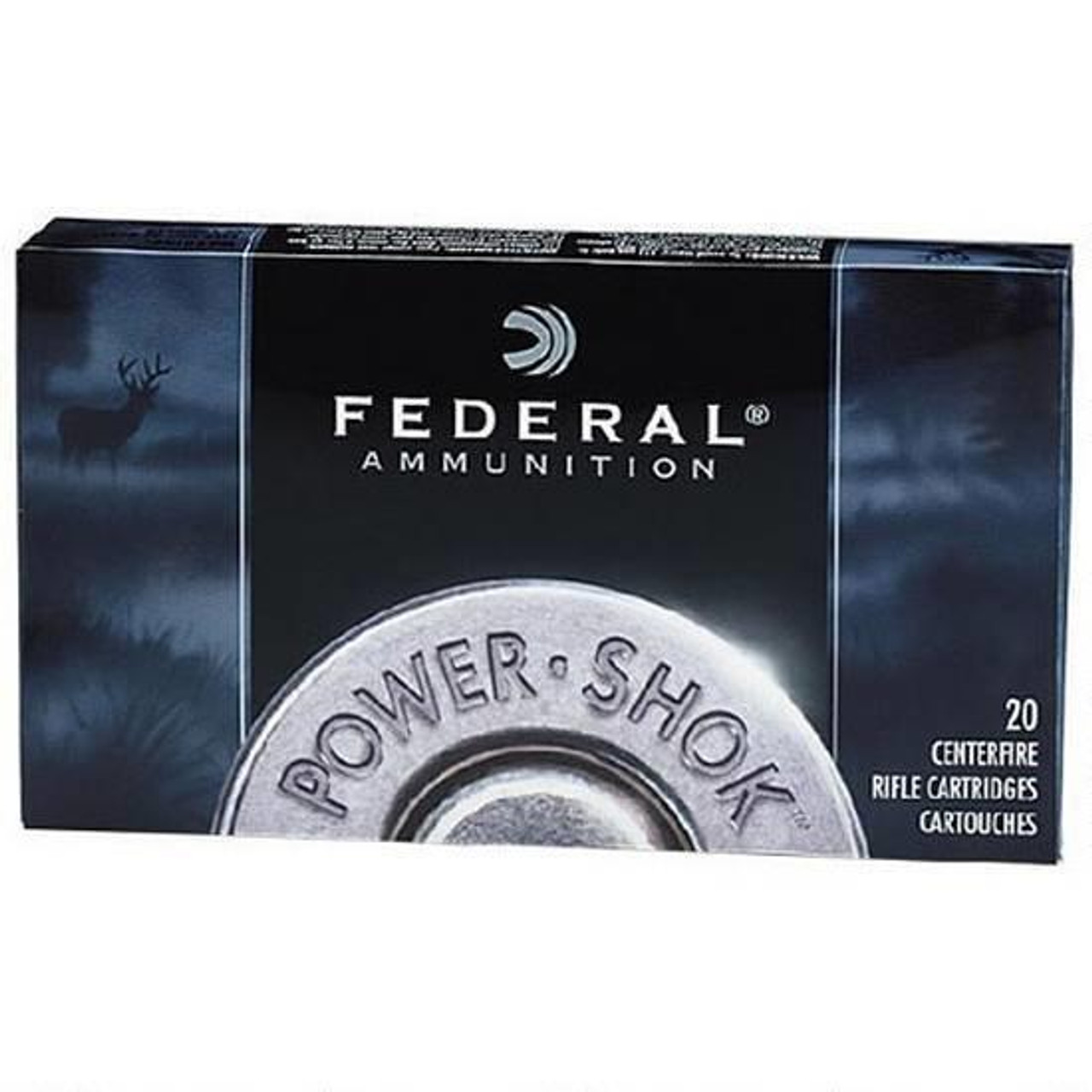 Federal Power-Shok 7mm-08 Remington JSP 150 Gr, Box of 20