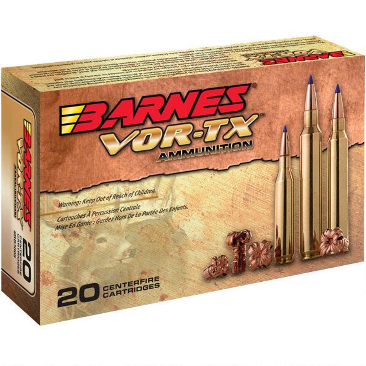 Barnes VOR-TX 6.5 Creedmoor  120 Gr, Lead Free TTSX-BT, 20 Rds