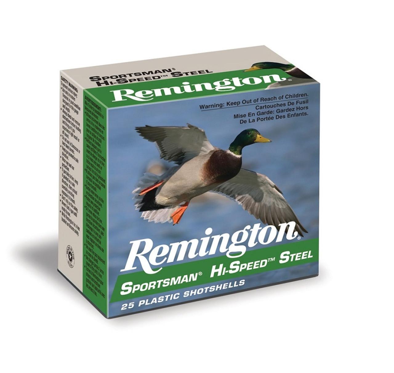 "Remington Hi Speed Steel 10 Ga, BB, 3.5"", 1 3/8 oz, 25 Rds"