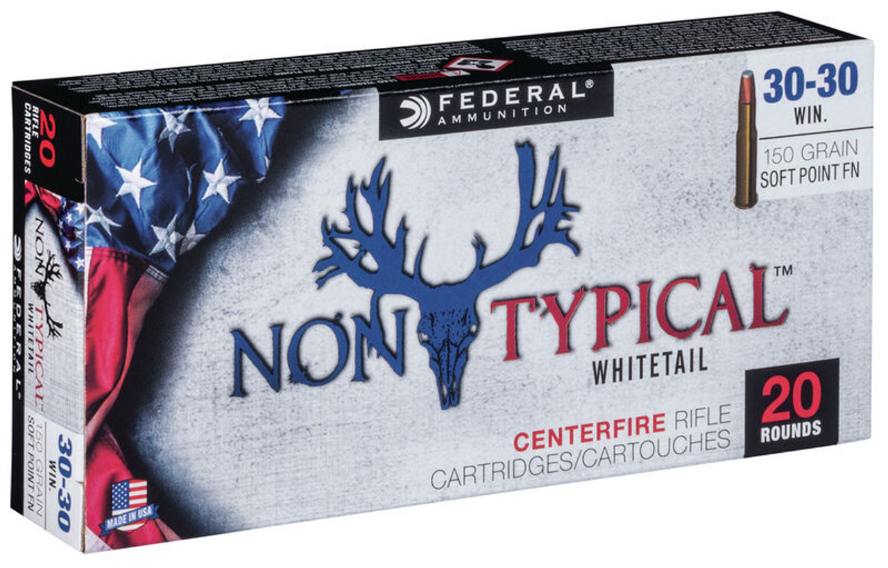Federal Non Typical 30-30 Win 150 gr, 20 Rds