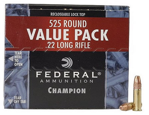 Federal Champion 22LR 525 Round Value Pack