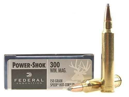 Federal 300 Win Mag 150gr Power-Shok Box of 20