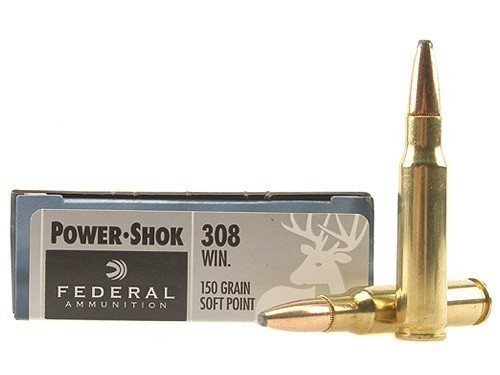 Federal 308 WIN 150gr Power-Shok Box of 20