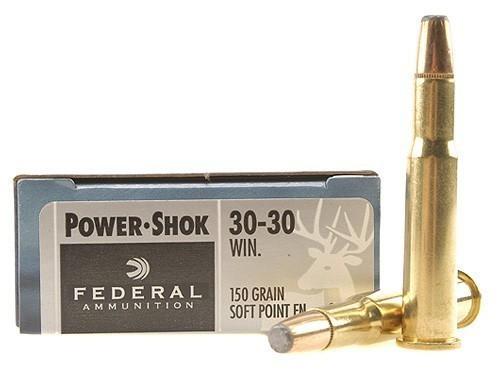 Federal 30-30 WIN 150gr Power-Shok Box of 20
