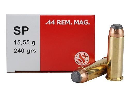 Sellier & Bellot 44 Mag 240gr JSP, Box of 50