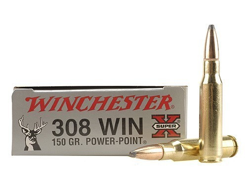 Winchester 308 Win 150gr Power Point, Box of 20