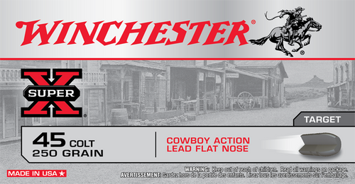 Winchester 45 Long Colt Cowboy Load Box of 50
