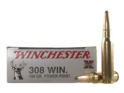 Winchester 308 Win 180gr Power Point, Box of 20