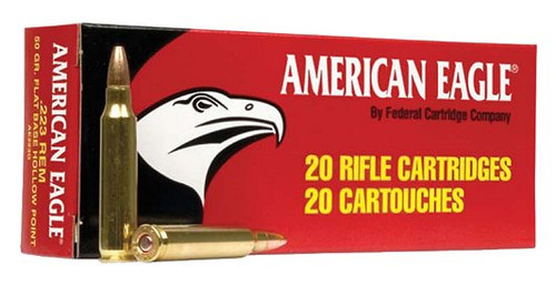 American Eagle 223 50gr JHP, 20 Rounds