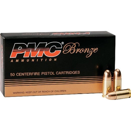 PMC 9mm 124gr FMJ, Case of 1000