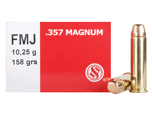 Sellier & Bellot 357 Mag 158gr FMJ Box of 50