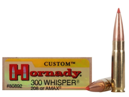 Hornady 300 Whisper 110 gr V-MAX Box of 20