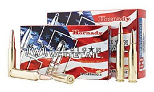 Hornady American Whitetail 243 WIN 100gr SP, Box of 20