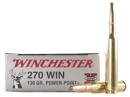 Winchester Super X, 270 Win 130gr Power Point, Box of 20