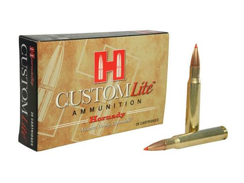 Hornady Custom Lite 30-06 SPRG, 125gr SST, Box of 20