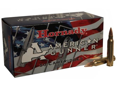 Hornady American Gunner 223 Rem 55gr JHP, Box of 50