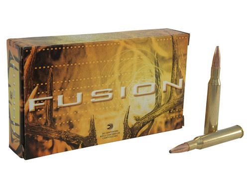 Federal Fusion 270 WIN, 130gr Spitzer Boat Tail, Box of 20
