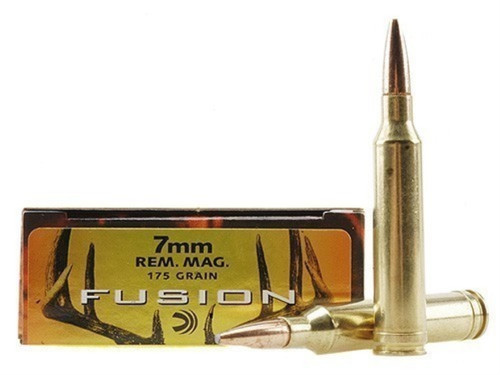 Federal Fusion 7mm Rem Mag 175gr Spitzer, Box of 20