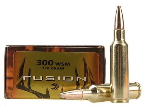 Federal Fusion 300 WSM, 150gr, Box of 20