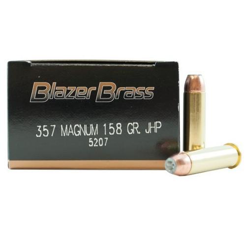 CCI Blazer 357 Mag, 158gr JHP, Box of 50