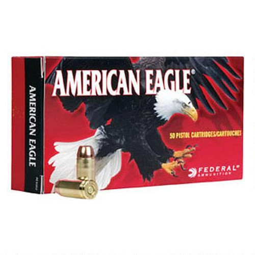 American Eagle 38 Super +P, 115gr JHP, Box of 50